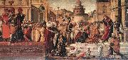 CARPACCIO, Vittore The Baptism of the Selenites dfg oil