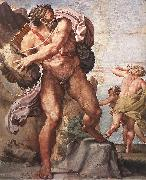 CARRACCI, Annibale The Cyclops Polyphemus dfg oil painting picture wholesale