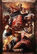 CARRACCI, Annibale Assumption of the Virgin Mary dfg oil painting artist
