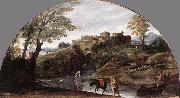 CARRACCI, Annibale The Flight into Egypt dsf oil painting artist