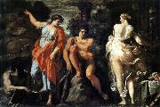 CARRACCI, Annibale The Choice of Heracles sd oil painting artist