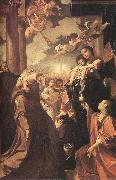 CARRACCI, Lodovico Bargellini Madonna sf oil painting artist