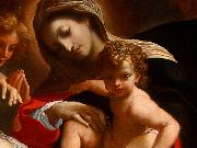 CARRACCI, Lodovico The Dream of Saint Catherine of Alexandria (detail) dfg oil painting artist