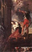 CARRACCI, Lodovico The Martyrdom of St Margaret fg oil painting artist