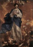 CAVALLINO, Bernardo The Blessed Virgin fdg oil painting artist