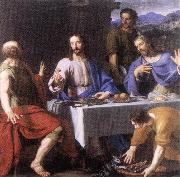 CERUTI, Giacomo The Supper at Emmaus khk oil painting picture wholesale