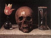 CERUTI, Giacomo Still-Life with a Skull  jg oil painting picture wholesale