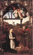 CHRISTUS, Petrus Nativity iuty oil painting artist