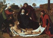 CHRISTUS, Petrus The Lamentation hin oil painting artist