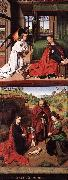 CHRISTUS, Petrus Annunciation and Nativity jkhj oil painting picture wholesale