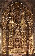 CHURRIGUERA, Jose Benito Main Altar dsf oil
