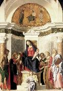 CIMA da Conegliano Madonna Enthroned with the Child dfg oil painting picture wholesale