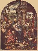 CLEVE, Joos van Adoration of the Magi sdf oil