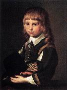 CODDE, Pieter Portrait of a Child dfg Spain oil painting reproduction