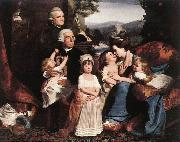 COPLEY, John Singleton The Copley Family dsf oil painting artist