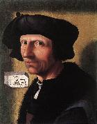 CORNELISZ VAN OOSTSANEN, Jacob Self-Portrait dfgd oil