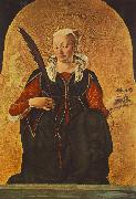 COSSA, Francesco del St Lucy (Griffoni Polyptych)  dfg oil painting picture wholesale