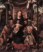 COTER, Colijn de The Adoration of the Magi dfg oil painting artist