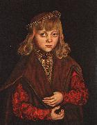 CRANACH, Lucas the Elder A Prince of Saxony dfg oil painting picture wholesale
