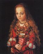 CRANACH, Lucas the Elder A Princess of Saxony dfg oil painting picture wholesale
