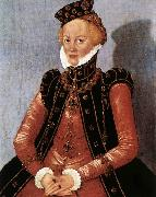 CRANACH, Lucas the Younger Portrait of a Woman sdgsdftg oil painting artist