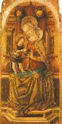 CRIVELLI, Carlo Virgin and Child Enthroned sdf oil painting picture wholesale