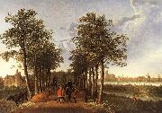 CUYP, Aelbert The Avenue at Meerdervoort dfg oil