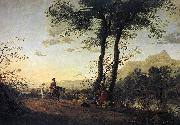 CUYP, Aelbert A Road near a River sdfg oil painting picture wholesale