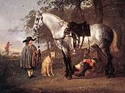 CUYP, Aelbert Grey Horse in a Landscape dfg oil painting picture wholesale