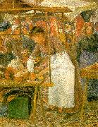 Camille Pissaro The Pork Butcher oil painting picture wholesale