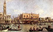 Canaletto Palazzo Ducale and the Piazza di San Marco oil painting picture wholesale