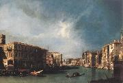 Canaletto The Grand Canal from Rialto toward the North oil painting picture wholesale