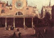 Canaletto San Giacomo di Rialto (detail) kkj oil painting picture wholesale