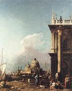 Canaletto Venice: The Piazzetta Looking South-west towards S. Maria della Salute sdfg oil painting picture wholesale