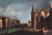 Canaletto The Grand Canal near Santa Maria della Carita fgh oil painting picture wholesale