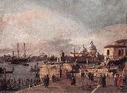 Canaletto Entrance to the Grand Canal: from the West End of the Molo  dd oil painting picture wholesale