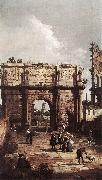 Canaletto Rome: The Arch of Constantine ffg oil painting picture wholesale