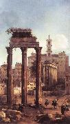 Canaletto Rome: Ruins of the Forum, Looking towards the Capitol d oil painting picture wholesale