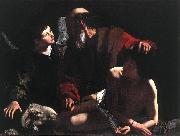 Caravaggio The Sacrifice of Isaac oil painting artist