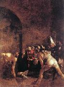 Caravaggio Burial of St Lucy fg oil painting picture wholesale