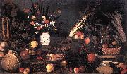Caravaggio Still-Life with Flowers and Fruit g oil painting picture wholesale