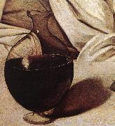 Caravaggio Bacchus (detail)  fg oil painting reproduction