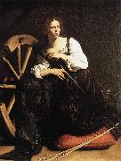 Caravaggio St Catherine of Alexandria fdf oil painting picture wholesale