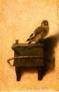 Carel Fabritus The Goldfinch Spain oil painting reproduction