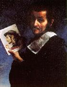 Carlo  Dolci Self Portrait_i oil painting artist