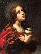 Carlo  Dolci Magdalene oil painting artist