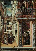 Carlo Crivelli Annunciation with Saint Emidius oil painting artist