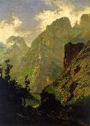 Carlos de Haes The Peaks of Europe,  The Mancorbo Canal oil painting picture wholesale