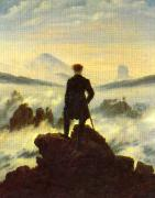 Caspar David Friedrich The Crow 1 oil