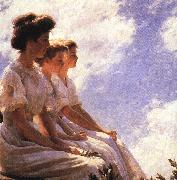 Charles Courtney Curran On the Heights oil painting picture wholesale